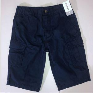 Carter's Boys Cargo Navy Blue Shorts